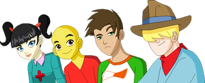 Xiaolin Monks - ATLA Style by juanito316ss