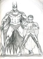 New Batman and Robin 0509 by guinnessyde