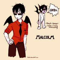 Malcolm by demonchuckles