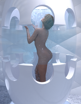 shower by Oleaster