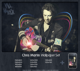 Chris Martin Wallpaper Set by mimizz