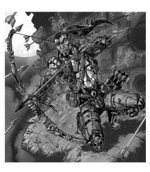 RPG Commission: Noble Elf Archer by WEXAL