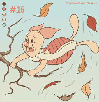 Palette Challenge #16 of 18 - Piglet by YouHaveAShortMemory