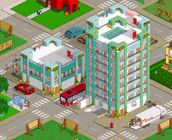 Apartment Buildings for Pixelart by NoNoKoHime