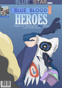 Showing Your Blue Colors- Cover by blue-blood-heroes