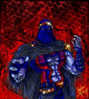 Cobra Commander Colored by zorm