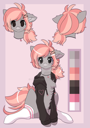 CM:: Blushshine Reference Sheet by quila111