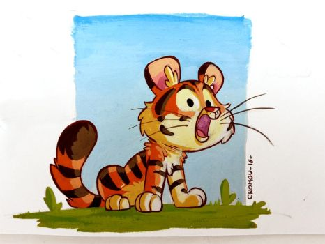 Tiny Tiger by CROMOU