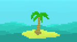 pixel island by FourSidedTringle
