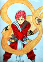 Gaara of the Sand by RedWing99