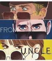 The Man from U.N.C.L.E by Hallpen
