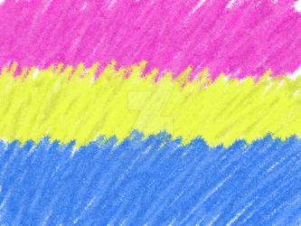 Pansexual Pride Flag (Transparent Background) by NightshadeCreepypasa