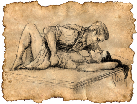 Evie and Cullen by yuhime