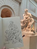 Ugolino and his Sons by ZaraAlfonso