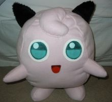 Life Size Jigglypuff Plushie by WhittyKitty