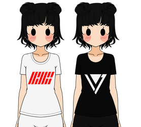 :Kpop Shirt Exports 02: by K-A-R-D