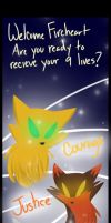 You only got 9 lives by imajenink