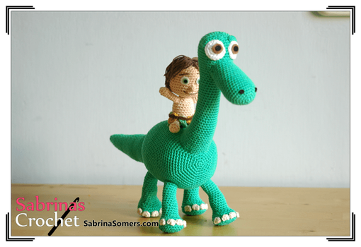 Arlo and Spot (The Good Dinosaur) by sabrinapina