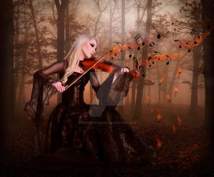The Song Of Fire by DesignsByDiana