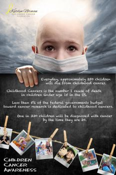 Child Cancer Awareness by diefor