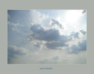just clouds by poppyflower