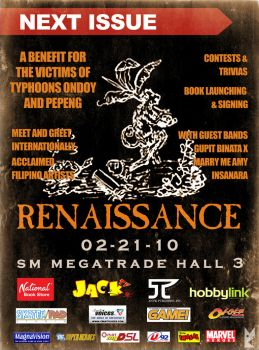 Renaissance Event Poster by manilacomic-con