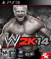 WWE 2K14 (PS3 Cover) by DJRocket