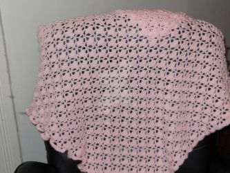 Pink Baby Blanket by ketoshears