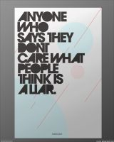 Dont Care What People Think by crymz