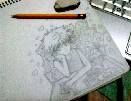 Killua-kun by MysticaLynn