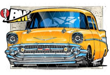 57 Chevy Drag 09132018 by Bmart333