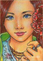 Adolescence - ACEO by MJWilliam