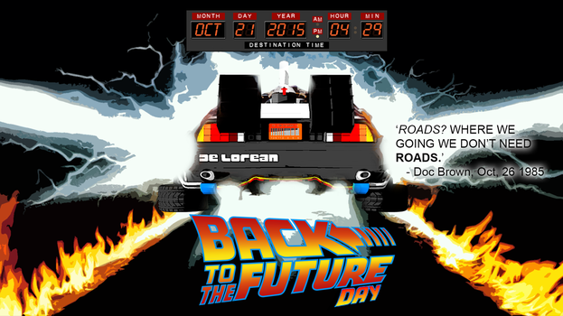 BTTFuture Day 2015 Poster by Big-Al-Son86