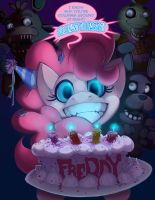 Five Nights with Pinkie 1rst Night by foolyguy
