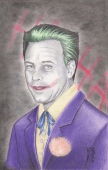 Mark Hamill as The Joker Original Art by DenaeFrazierStudios
