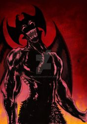 Devil Man Cry Baby by nic011