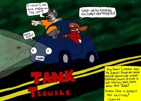 Tank Trouble by Luprand