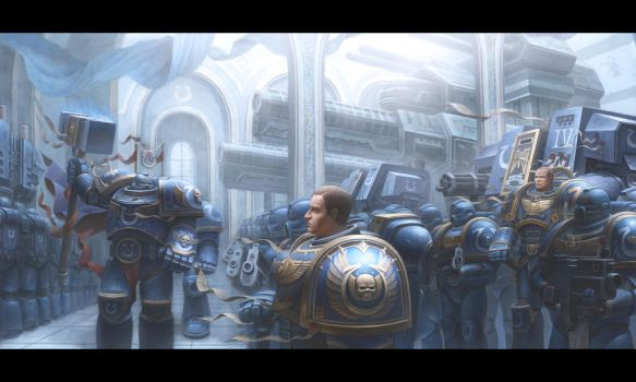 Ultramarines by concubot