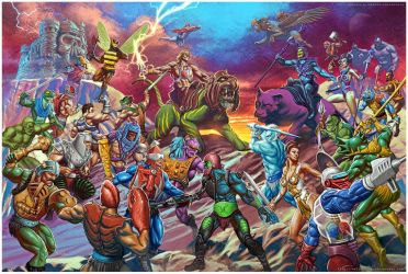 Masters Of The Universe by CValenzuela
