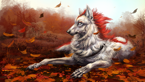 Fall of the leaves by Alaiaorax
