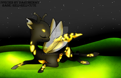 First Glow Bug Adopt OPEN by Darumemay
