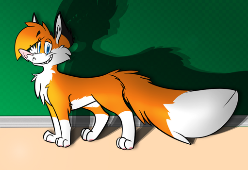 House Fox by zilchfox