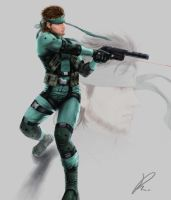 SolidSnake by XsoRa