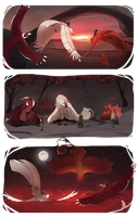Scorched heavens | Tribute sheet #2 by Lairai