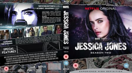 Jessica Jones season two Blu-Ray by MrPacinoHead