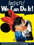 Minnie the Riveter by munkai