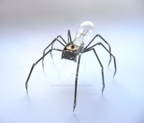 Mechanical Spider No 12 by AMechanicalMind