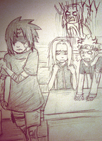 naruto au: team 7's creation by morimori-mori