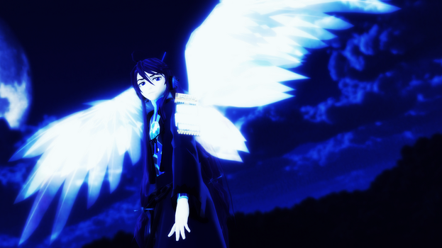 [MMD] Winged Warrior by JRoqqs25
