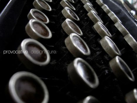 typewriter by deSIGNATURE